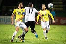 Mitja Viler of Maribor and Amadej Maroša of Mura during football match between NŠ Mura and NK Maribor in 4th Round of Prva liga Telekom Slovenije 2019/20, on Avgust 3, 2019 in Fazanerija, Murska Sobota, Slovenia. Photo by Blaž Weindorfer / Sportida
