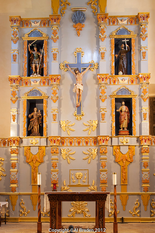 Altar at Mission San Jose, San Antonio, TX