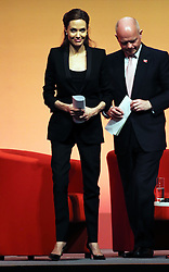 Image licensed to i-Images Picture Agency. 12/06/2014. Angelina Jolie and UK Foreign Secretary William Hague on day three of the End Sexual Violence in Conflict  Global Summit in London.  Picture by Stephen Lock / i-Images