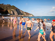 christmas day swim Grève de Lecq