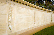 Memorial at the American Cemetery, Omaha Beach, Colleville-sur-Mer, Normandy, France