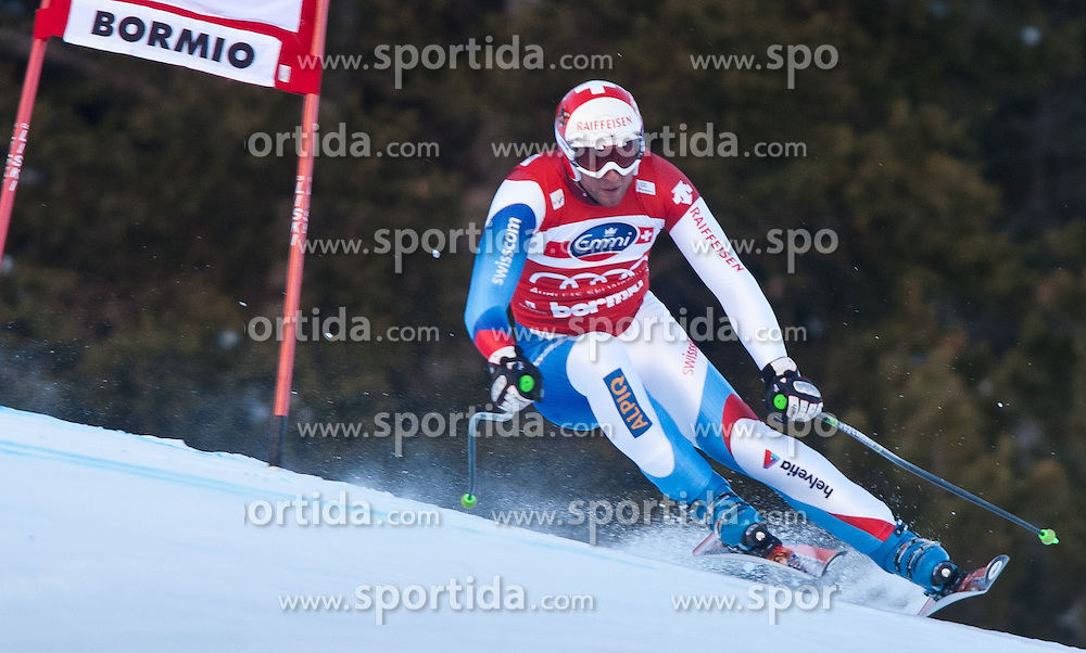 29.12.2010, Pista Stelvio, Bormio, ITA, FIS World Cup Ski Alpin, Men, downhill, im Bild Silvan Zurbriggen (SUI, #13) Platz 2. EXPA Pictures © 2010, PhotoCredit: EXPA/ J. Groder