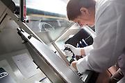 Genomics Facility Laboratory Technician Rachel Arnold sequences plant rna.