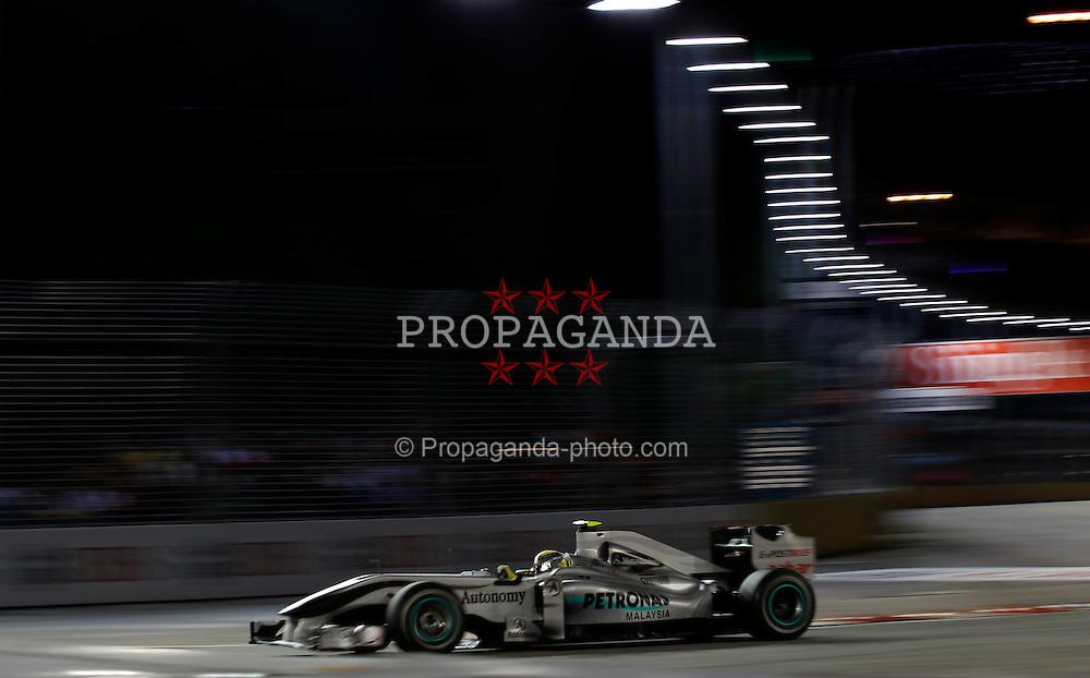 Motorsports / Formula 1: World Championship 2010, GP of Singapore, 04 Nico Rosberg (GER, Mercedes GP Petronas),