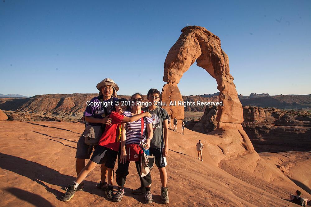 Arches National Park in Utah. (Photo by Ringo Chiu/PHOTOFORMULA.com)