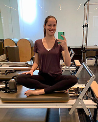 "Ana Ivanovic releases a photo on Instagram with the following caption: ""Pilates morning \ud83e\uddd8\ud83c\udffb\u200d\u2640\ufe0f \ud83d\ude0a\ud83d\udcaa\ud83c\udffc"". Photo Credit: Instagram *** No USA Distribution *** For Editorial Use Only *** Not to be Published in Books or Photo Books ***  Please note: Fees charged by the agency are for the agency's services only, and do not, nor are they intended to, convey to the user any ownership of Copyright or License in the material. The agency does not claim any ownership including but not limited to Copyright or License in the attached material. By publishing this material you expressly agree to indemnify and to hold the agency and its directors, shareholders and employees harmless from any loss, claims, damages, demands, expenses (including legal fees), or any causes of action or allegation against the agency arising out of or connected in any way with publication of the material."