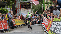 02.07.2017, Graz, AUT, Ö-Tour, Österreich Radrundfahrt 2017, 1. Etappe, Prolog, im Bild Brendan Canty (AUS, Cannondale-Drapac Pro Cycling Team) // Brendan Canty (AUS, Cannondale-Drapac Pro Cycling Team) during Stage 1, Prolog of 2017 Tour of Austria. Graz, Austria on 2017/07/02. EXPA Pictures © 2017, PhotoCredit: EXPA/ Reinhard Eisenbauer