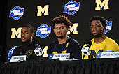 Mar 23, 2018-NCAA Basketball-West Regional-Michigan Press Conference