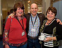Dr. Anne Gillen Carraroe, Dr. Declan Larkin, Knocknacarra and Dr. Maura o Shea Portumna at Rheumatology Toolbox : Rheumatology for General Practice Conference at the Radisson Blu Hotel , Galway. Photo:Andrew Downes