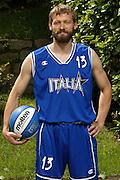 SONDRIO, ESTATE 2002<br /> POSATI NAZIONALE ITALIANA MASCHILE<br /> NELLA FOTO: MICHELE MIAN<br /> FOTO CIAMILLO