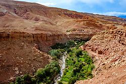 The village of Ta&iuml;faste in southern Morocco<br /> <br /> (c) Andrew Wilson | Edinburgh Elite media