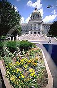 PA Capitol, Landscape, Harrisburg, Pennsylvania