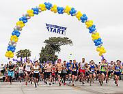 Scenic 5K Start Line in Corona del Mar