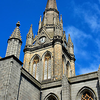 Kirk of St Nicholas Spire in Aberdeen, Scotland<br />