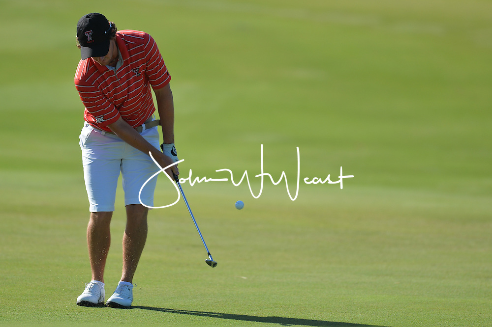 Matias Dominguez during  the second round of the NCAA Golf Championships at the Concession Golf Club in Bradenton, FL.