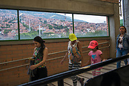 Medellin, Antioquia, Colombia: city view from the cableway.