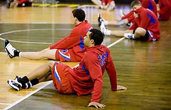 Trajan Langdon of CSKA  at Euroleague basketball match between KK Union Olimpija, Ljubljana and CSKA Moscow, on January 7, 2010 in Arena Tivoli, Ljubljana, Slovenia. CSKA defeated Olimpija 80:77 after overtime. (Photo by Vid Ponikvar / Sportida)