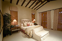 Bedroom in luxurious residence