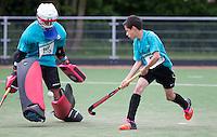 PIJNACKER - Districtsfinales finales van het Interpolis NK Shoot Outs toernooi op HC Pijnacker. © 2015 COPYRIGHT KOEN SUYK