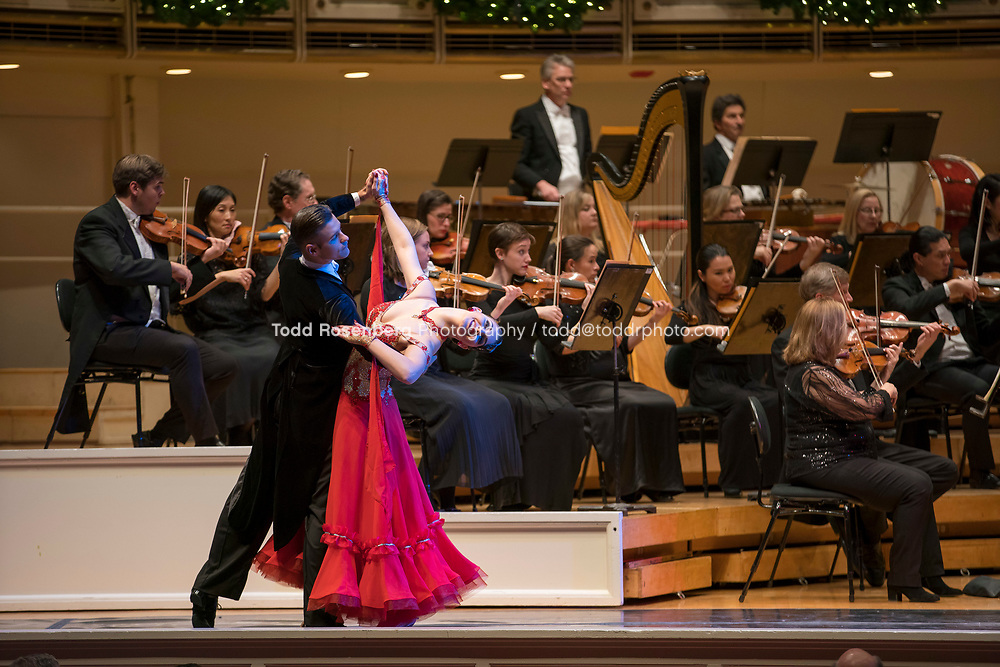 12/30/17 3:01:34 PM -- Chicago, IL, USA<br /> Attila Glatz Concert Productions' &quot;A Salute to Vienna&quot; at Orchestra Hall in Symphony Center. Featuring the Chicago Philharmonic <br /> <br /> &copy; Todd Rosenberg Photography 2017