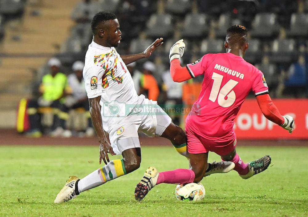 January 20, 2017 - GABON - M. Diouf - Senegal vs T. Mkuruva - Zimbawe (Credit Image: © Panoramic via ZUMA Press)
