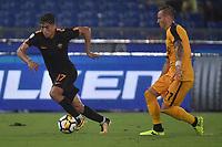 Cengiz Under Roma, Marcel Buchel Verona <br /> Roma 16-09-2017 Stadio Olimpico Calcio Serie A 2017/2018 AS Roma - Verona Foto Andrea Staccioli / Insidefoto
