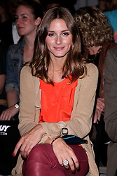 © Licensed to London News Pictures. 15/09/2011. London, United Kingdom .Olivia Palermo at the Toni & Guy First Hair Fashion Show on the eve of London Fashion Week, held at Somerset House..Photo credit : Chris Winter/LNP
