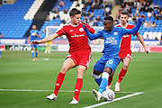 Peterborough United midfielder Siriki Dembele (10) gets into the box during the EFL Sky Bet League 1 match between Peterborough United and Accrington Stanley at London Road, Peterborough, England on 20 October 2018.