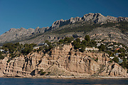 Residential development, Mascarat area, Altea, Costa Blanca, Alicante province, Spain