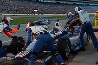 Helio Castroneves, Texas Motor Speedway, Ft. Worth, TX USA 6/7/2014