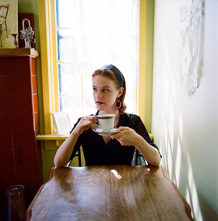 Marian Call in Anchorage, Alaska. 2008