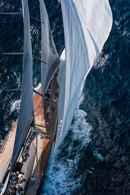 France Saint - Tropez October 2013, Wally Class racing at the Voiles de Saint - Tropez<br /> <br /> Wally, GBR8211,HAMILTON,&quot;30,5&quot;,WALLY CENTO/2012,