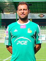 FOOTBALL POLISH EKSTRAKLASA SEASON 2014/2015<br /> GKS Belchatow<br /> N/Z szymon sawala