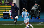 Matt Beard of West Ham United Women (Manager) during the FA Women's Super League match between Manchester City Women and West Ham United Women at the Sport City Academy Stadium, Manchester, United Kingdom on 17 November 2019.