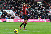 Callum Wilson (13) of AFC Bournemouth reacts after missing a chance to score during the Premier League match between Bournemouth and Aston Villa at the Vitality Stadium, Bournemouth, England on 1 February 2020.