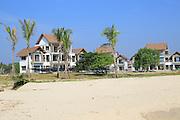 New hotel development under construction, Pasikudah Bay, Eastern Province, Sri Lanka, Asia