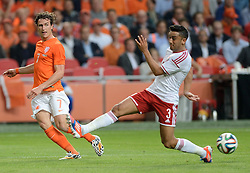 04-06-2014 NED: Vriendschappelijk Nederland - Wales, Amsterdam<br /> Nederland wint met 2-0 van Wales / Daryl Janmaat