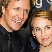 NLD/Amsterdam/20151015 - Televizier gala 2015, Klaas van Kruistum en partner