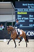 Severo Jurado Lopez - Rockson<br /> Longines FEI/WBFSH World Breeding Dressage Championships for Young Horses 2016<br /> © DigiShots