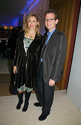 ASHLEY & ALLEGRA HICKS at an exhibition of David Hockney portraits at the National Portrait Gallery sponsored by Burberry on 11th October 2006.<br /><br />NON EXCLUSIVE - WORLD RIGHTS