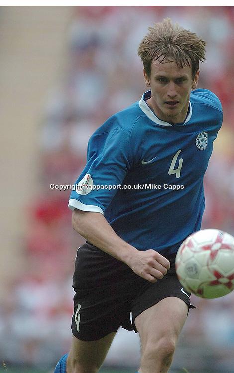 RAIO PIIROJA, ESTONIA, England - Estonia, UEFA European Championships 2008, Wembley, 13/10/2007