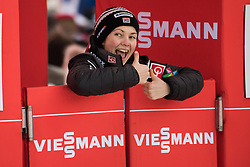 February 8, 2019 - Silje Opseth of Norway on first competition day of the FIS Ski Jumping World Cup Ladies Ljubno on February 8, 2019 in Ljubno, Slovenia. (Credit Image: © Rok Rakun/Pacific Press via ZUMA Wire)