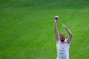 Tomasz Majewski from Poland competes in men's shot put qualification during the 14th IAAF World Athletics Championships at the Luzhniki stadium in Moscow on August 15, 2013.<br /> <br /> Russian Federation, Moscow, August 15, 2013<br /> <br /> Picture also available in RAW (NEF) or TIFF format on special request.<br /> <br /> For editorial use only. Any commercial or promotional use requires permission.<br /> <br /> Mandatory credit:<br /> Photo by &copy; Adam Nurkiewicz / Mediasport