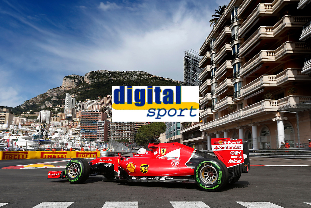 VETTEL sebastian (ger) ferrari sf15t action during the 2015 Formula One World Championship, Grand Prix of Monaco from May 20 to 24th 2015, in Monaco. Photo Jean Michel Le Meur / DPPI