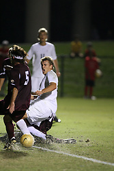 Virginia Cavaliers F Adam Cristman (9) in action against Boston College. The Virginia Cavaliers Men's Soccer Team defeated The Boston College Eagles, 3-2 in overtime on September 15, 2006 at Klöckner Stadium in Charlottesville, VA