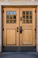 St Paul's School doors.  ©2018 Karen Bobotas Photographer