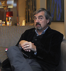 Author Sebastian Barry pictured at the reading he gave at the 2016 Rolling Sun Book Festival in Westport.<br />Pic Conor McKeown