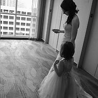 Kristina & Steve Wedding BW