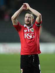 - Photo mandatory by-line: Joe Meredith/JMP - Mobile: 07966 386802 - 07/02/2015 - SPORT - Football - Milton Keynes - Stadium MK - MK Dons v Bristol City - Sky Bet League One
