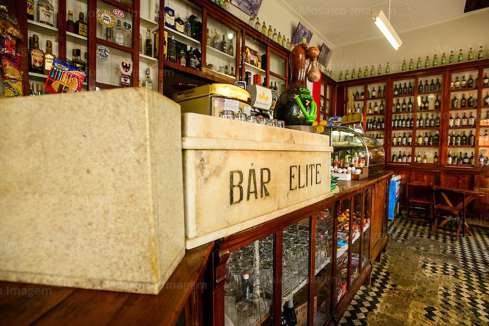 Santa Teresa - Espirito Santo - Vista Interna do Bar Elite no Centro Historico do Centro da Cidade de Santa Teresa - Foto: Gabriel Lordello/Mosaico Imagem